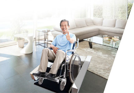 Wheel Chair Sport Home Trainer